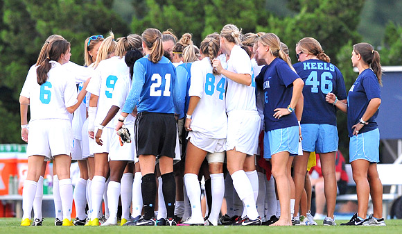 unc girls soccer team camp